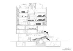 Edifício Collage,Corte