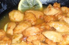 Receta de Pollo al Limón: receta china