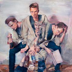 Adam Lupston é um artista que mora em Vancouver. Seu trabalho explora as brigas psicológicas e sociológicas na sociedade moderna.