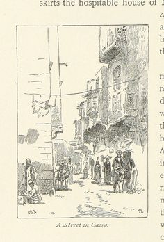 Image taken from page 62 of 'From Pharaoh to Fellah ... [A descriptive account of a journey in Egypt.] With illustrations by G. Montbard, etc' | by The British Library