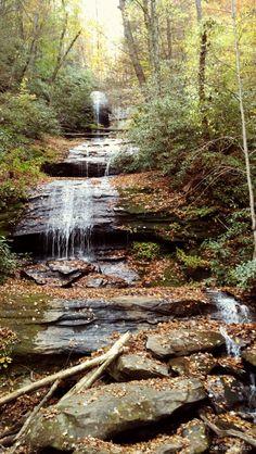 Mountain stream in Blue Ridge Mtns.