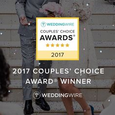 We are extremely proud and excited to announce that we have been chosen for the 2017 wedding wire couples choice award! We want to send out a special thank you to all of our couples and their families who have taken the time to support us we are honored to be a part of your day and honored that you would take the time to review us! This is the fourth year in a row we have been honored and we look forward to working with all of our future couples!!!! #ccblct #ccbl…