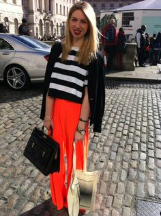 We LOVE this look #LFW #streetstyle boohoo.com