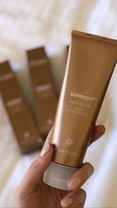 Sunright® Insta Glow Instant Tinted Self-Tanning Gel with DHA Glacial Marine Mud, Self Tanning Lotions, Hydrate Hair, How To Exfoliate Skin, Skin So Soft, Body Butter, Face And Body, Nu Skin, Makeup Products