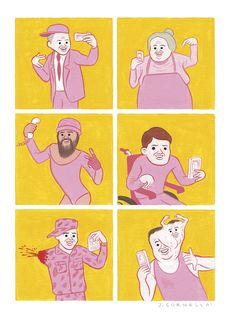 Le illustrazioni di Joan Cornellà - Il Post