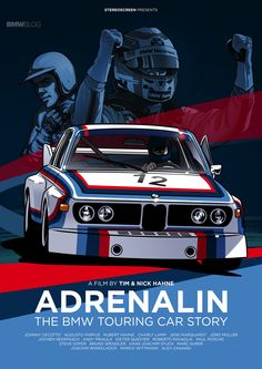 """ADRENALIN – THE BMW TOURING CAR STORY"" now available on DVD and Blu-ray - http://www.bmwblog.com/2014/12/01/adrenalin-bmw-touring-car-story-now-available-dvd-blu-ray/"