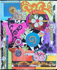 Art Journal - Inspired by Beatriz Milhazes