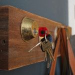 Key Rack Solution and other neat tips to decorate using recycled bike parts!