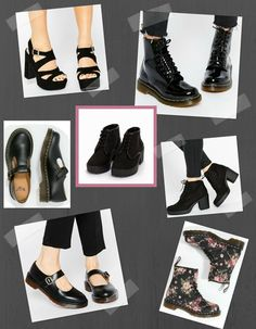 Spring Shoes For Grunge Girls. -
