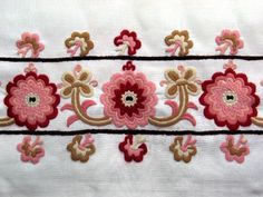 KUNRÓZSA created with WOW Slider, a free wizard program that helps you easily generate beautiful web slideshow Russian Embroidery, Wool Embroidery, Embroidery Patterns, Machine Embroidery, Folk Fashion, My Heritage, World Cultures, Chain Stitch, Hungary
