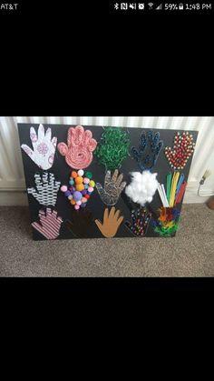 Five Senses Preschool, Senses Activities, Preschool Science, Montessori Activities, Infant Activities, Preschool Crafts, Preschool Activities, Crafts For Kids, Diy Sensory Toys