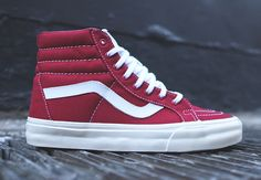 "#Vans Sk8-Hi Reissue ""10 oz Canvas"" #sneakers"