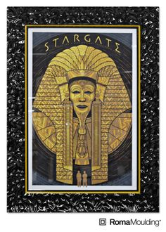 Who remembers this movie? Recently, our Mayor of Insane Marketing, John Laurendi had his Stargate print framed using our Lavo moulding. #posterart #movieposter #filmposter