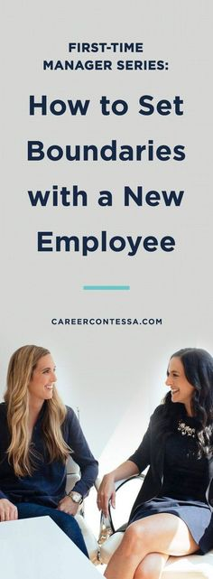 Manager Skills: How to Set Boundaries with a New Employee We all want to be liked, but leadership requires a lot more than that. Here's how to set boundaries with a new employee for first-time managers. Leadership Skill, Leadership Development, Nursing Leadership, Leadership Activities, Leadership Qualities, Professional Development, Time Management Tips, Business Management, Project Management