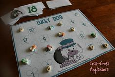 FREE game for St. Patrick's Day from Criss-Cross Applesauce...practice identifying numbers 1-20