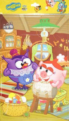 """Иллюстрация 1 из 1 для Пазл-6 """"Коклюшки"""". Смешарики (5637)   Лабиринт - игрушки. Источник: Лабиринт"""