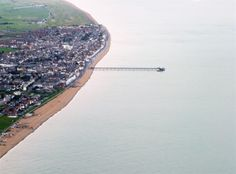 Deal Pier From the air  Deal, Kent