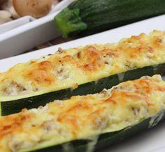 Gefüllte Zucchini aus dem Ofen von koch-kinoDE