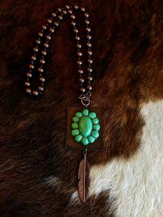 Waxahachie Necklace - Turquoise Sookie Sookie