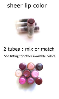 gift for her 2 Blackberry Lip Tint lip balm coworker gift by soap