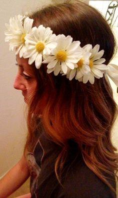 EDC Coachella Flower Headband by ManyThingsMari on Etsy, $15.00