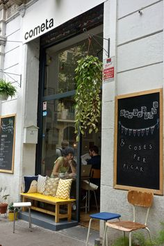 Café Cometa. Carrer Parlament, Barcelona