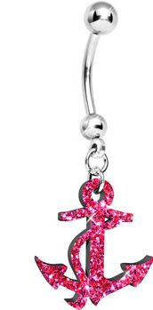 #Body Candy               #ring                     #Flamingo #Pink #Glitter #Nautical #Anchor #Belly #Ring #Body #Candy #Body #Jewelry                     Flamingo Pink Glitter Nautical Anchor Belly Ring | Body Candy Body Jewelry                              http://www.seapai.com/product.aspx?PID=1195104