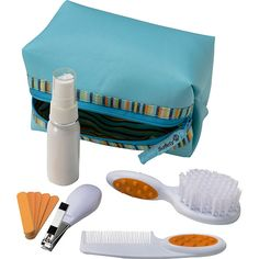 Kit de higiene pessoal.