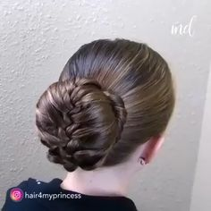 A wide range of bun hairstyles you can try out! By: @hair4myprincess Bun Hairstyles For Long Hair, Braided Hairstyles, Hairstyle Ideas, Videos Of Hairstyles, Ballet Hairstyles, Shaved Hairstyles, Wedding Hairstyles, Medium Hair Styles, Short Hair Styles