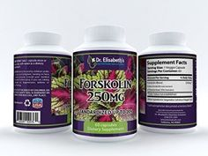 Forskolin 250 Mg Best Premium Highest Grade Maximum Strength ★ Coleus Forskohlii Root Standardized to 20% for Men and Women ★ Provides 50mg Pure Forskolin Per Serving ★All Natural Appetite Suppresant Herbal Weight Loss Supplement for Fat Burning ★ May Lower Blood Pressure, Improve Breathing, and Normalize Thyroid Function ★ 60 Days Supply ★ RISK FREE 100% MONEY BACK GUARANTEE!