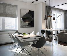 Afbeeldingsresultaat voor futuristic dining room