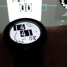 """NEW IN THE STORE, CALLED """"WEIRD STUFF"""". DIGITAL CLOCK, WITH THE DAY OF THE MONTH, BATTERY LEVEL, STEP COUNTER AND NAME OF THE DAY. USING MY OWN FONTS. CHECK IT OUT NOW. DESIGN IS MADE FOR GEAR S2 AND GEAR S3. #SAMSUNG #gear #gears2 #gears3 #watch #samsunggear #samsungwatch #design #samsunggears3 #samsunggears2 #theme #alwayson #orangeisthenewface #samsungmobile #samsungmobile_de #aod #aodapproved✔️ #kilometers #miles #watchface #watchfaces @samsungmobile.de @samsungmobileindia…"""