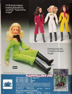 Charlie's Angels Dolls. I wanted these so bad!