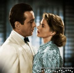 "kadr z filmu ""Casablanca"""