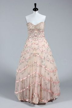1940s Ball Gowns | Ballgown by Harald, 1955 | Prom Dresses | Pinterest