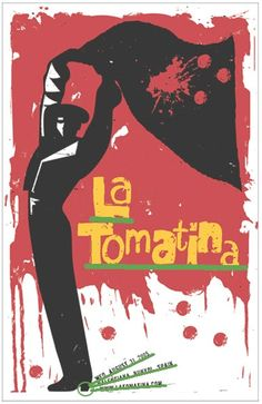 I would love to attend the La Tomatina Festival in Bunol, Spain. More than 45000 people fill up the streets to throw rotten and over ripe tomatoes at the worlds. Spanish Festivals, Festivals In August, Upcoming Festivals, Free Spanish Lessons, Spanish 1, Spanish Class, World Festival, Poster Drawing, Marketing Logo