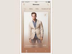 Clothing Shop App by Vitaly Rubtsov for Yalantis