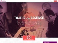 Chime - Time Tracking for Pros: Chime helps you track time and evaluate the real cost behind your work. For free.