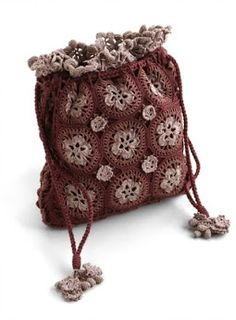 Outstanding Crochet: Crochet accessories from Peruvian Connection.
