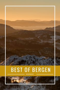 Norway in winter?! Yes, go to Bergen. We've compiled all the best things for you to do; just click here.