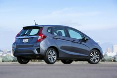 The Honda Fit, space in a tiny Japanese package.