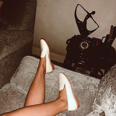 Everyday dressing inspired by the olden times. Your indoor and outdoor staple, the Smoking Loafers in white. Smoking, You Got This, Dressing, Loafers, Indoor, Times, Inspired, Heels, Shop