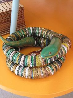 bottle cap snake...