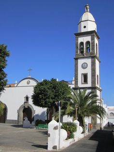 Lanzarote, Arrecife Church by Heinz-Jörg Kretschmer on 500px