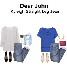 Dear John Kyleigh Straight Leg Jean - pretty much the most comfortable and stretchy jeans I've ever owned.  Plus, they hardly stretch out throughout the day.