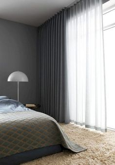Uncover More Admirable Scandinavian Interior Bedroom Curtains Ideas 29 Fancy Curtains Scandinavian Bedroom Ideas Scandinavian Interior Bedroom Curtains is among the most creative and strik. Bedroom Drapes, Cozy Bedroom, Home Decor Bedroom, Modern Bedroom, Bedroom Ideas, Master Bedroom, Contemporary Bedroom, Light Bedroom, Minimalist Bedroom