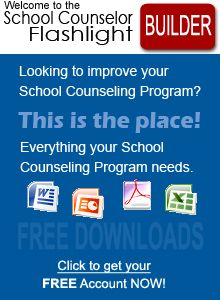 Center for Excellence in School Counseling -- has tons of great resources, curriculum, lesson plans, etc.
