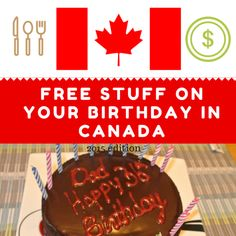 This free eBook was co-written by Steven and Lina Zussino, Canada's Frugal Couple. This is the third edition of this popular eBook. We have over 200 retailers/services in this eBook. We wanted to write this eBook to share all the free stuff available on your birthday across Canada. We have compile…