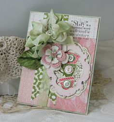 Creative Stamping Ideas: Tea Time