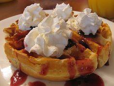 Grandma Glade's Waffles | Family Heritage Recipes